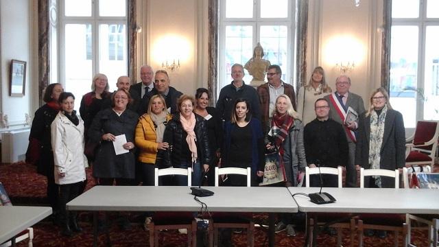 Εκπαιδευτικοί του Γυμνασίου Ευξεινούπολης στη Γαλλία
