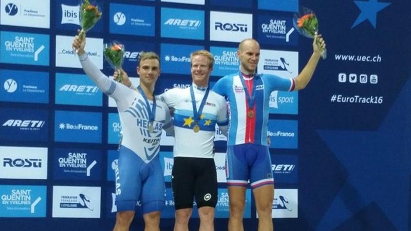 «Ασημένιος» ο Βολιώτης πρωταθλητής ποδηλασίας Χρήστος Βολικάκης