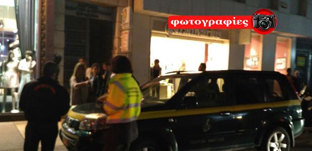 Υπηρεσιακό όχημα του Υπ. Ανάπτυξης «έφαγε» κλήση στο κέντρο του Ηρακλείου