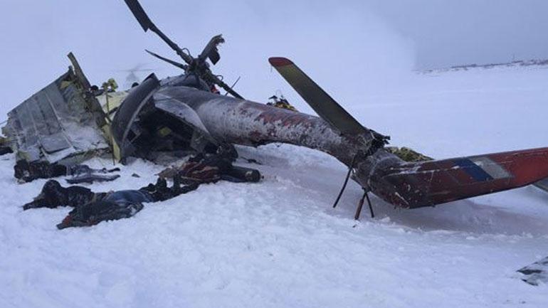 Συντριβή ρωσικού ελικοπτέρου στη Σιβηρία με 19 νεκρούς