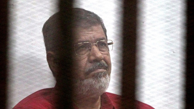 Δικαστήριο του Καΐρου επικύρωσε 20ετή ποινή κάθειρξης σε βάρος του Μοχάμεντ Μόρσι