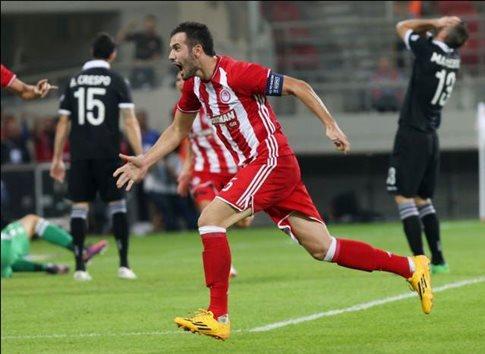 Ο Ολυμπιακός νίκησε με ανατοπή τον ΠΑΟΚ με 2-1
