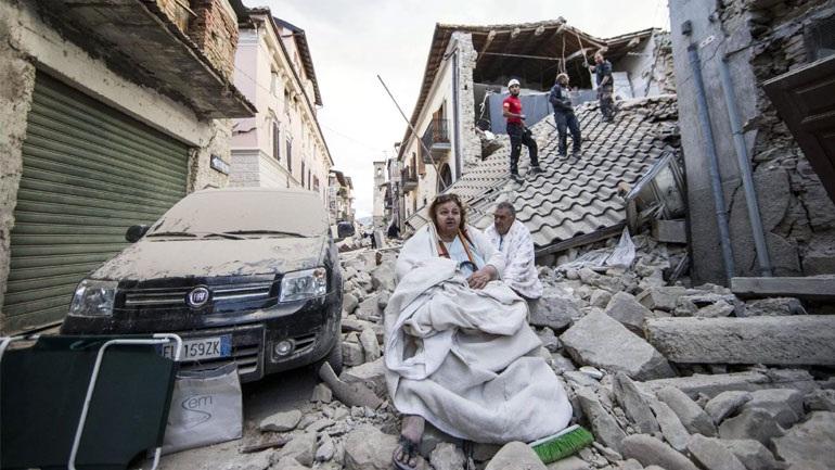 Ιταλία: Έκτακτο κονδύλι 40 εκατ. ευρώ για τους σεισμοπαθείς