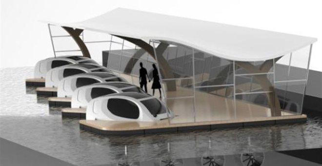Ιπτάμενα ταξί στον Σηκουάνα - και δεν πρόκειται για επιστημονική φαντασία