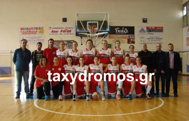 Ολύμπια Λάρισας-Ολυμπιακός Βόλου 52-64