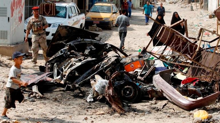 Ιράκ: Τουλάχιστον οκτώ νεκροί από βομβιστική επίθεση σε αγορά της Βαγδάτης