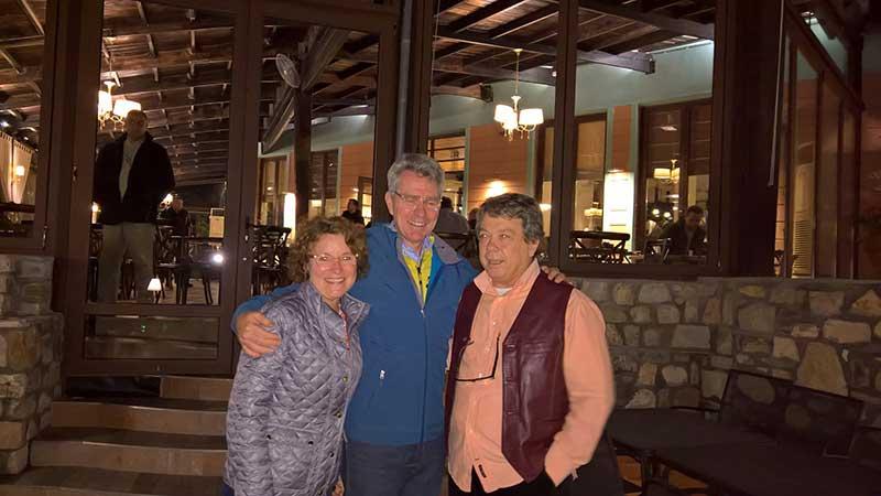 Στην Καλαμπάκα ο νέος Πρέσβης της Αμερικής Geoffrey Pyatt