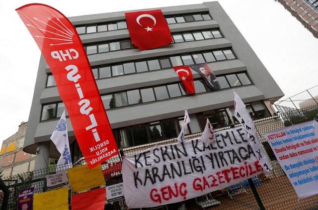 Τουρκία: Προφυλακιστέοι οι εννέα δημοσιογράφοι της Cumhuriyet