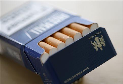 Ένα πακέτο τσιγάρα την μέρα προκαλεί 150 μεταλλάξεις στους πνεύμονες