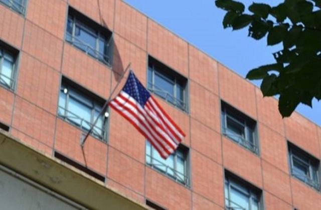 Ντου του Ρουβίκωνα στο Αμερικανικό Προξενείο στη Θεσσαλονίκη