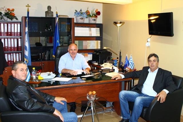 Συνάντηση Νασίκα με το προεδρείο του Συλλόγου Φίλων Ιαπωνικού Καράτε Στεφανοβικείου
