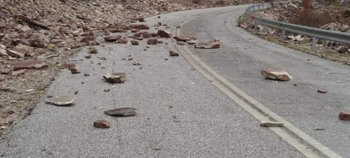 Κατολισθήσεις και καταστροφές στα Τρίκαλα από την κακοκαιρία