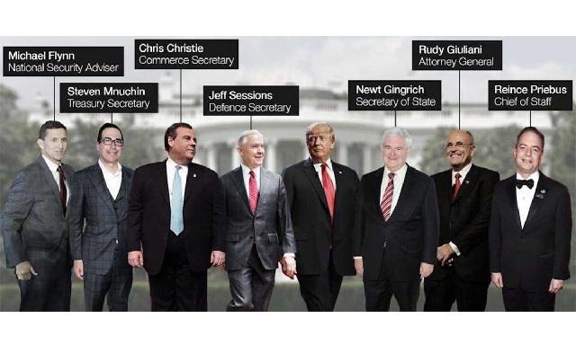 Τα πρόσωπα - κλειδιά στο επιτελείο του Τραμπ