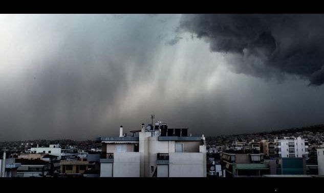 Δελτίο Επιδείνωσης Καιρού: Σαββατοκύριακο με βροχές, καταιγίδες και χαλάζι
