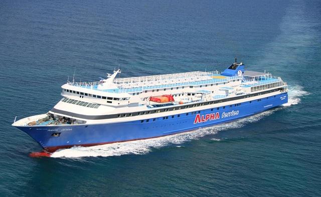 Στη γραμμή των Σποράδων το πλοίο Aqua Jewel