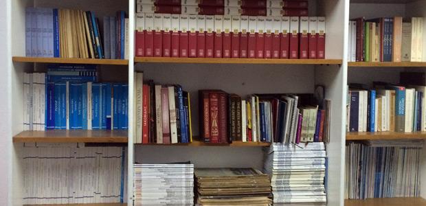 Βιβλιοθήκη μελέτης Στο Μουσείο Ναυτικής και Πολιτιστικής Παράδοσης Σκιάθου