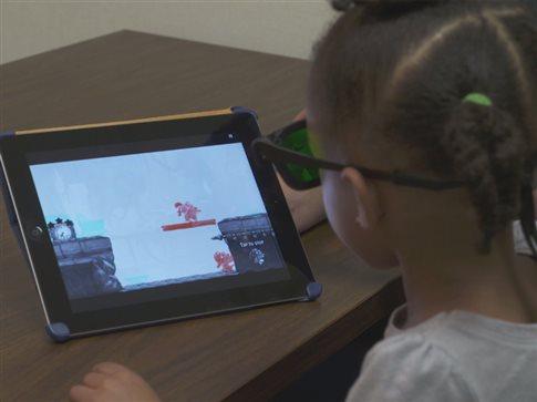 Ηλεκτρονικό παιχνίδι θεραπεύει το «τεμπέλικο μάτι» στα παιδιά