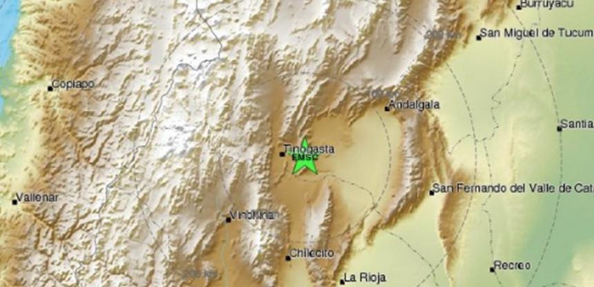 Σεισμός 5,7R στην Αργεντινή