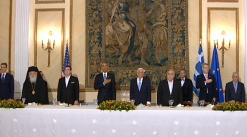 Παυλόπουλος: Μη λησμονάτε τη χώρα μου - Ομπάμα: Θα μας έχετε πάντα συμμάχους