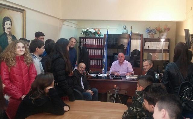 Μαθητές του Γυμνασίου Στεφανοβικείου ενημερώθηκαν για τη Χάρτα το Ρήγα