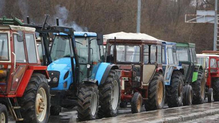 Συλλαλητήριο αγροτών στην Καρδίτσα