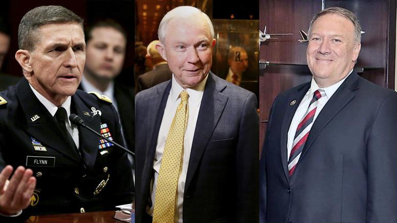 Οι τρεις σκληροί που αναλαμβάνουν δικαιοσύνη, ασφάλεια και CIA