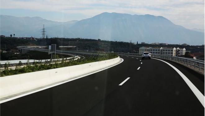 Σε πλήρη λειτουργία ο αυτοκινητόδρομος Κόρινθος-Τρίπολη-Καλαμάτα στα μέσα Δεκεμβρίου