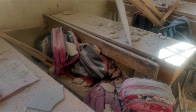 Επτά παιδιά σκοτώθηκαν από βομβαρδισμούς στο Χαλέπι