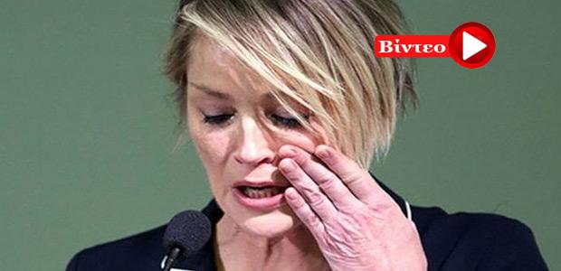 Sharon Stone: Ξέσπασε δημόσια σε κλάματα η ηθοποιός