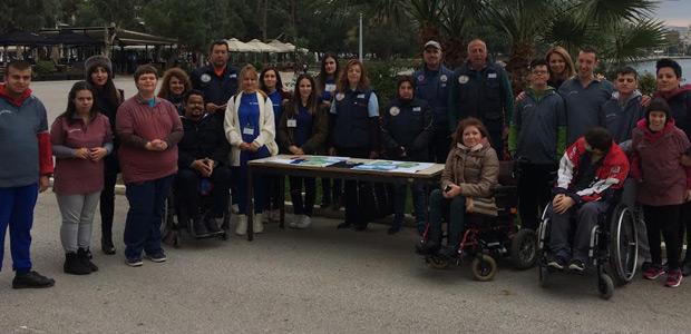«Σύνορα» στην προσβασιμότητα για άτομα με κινητικές αναπηρίες στο Βόλο