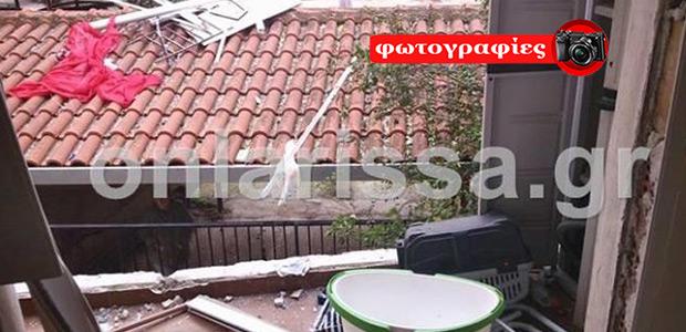Λάρισα: Έκρηξη σε διαμέρισμα στο κέντρο με έναν τραυματία