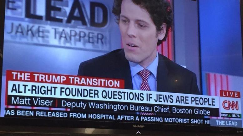 Σάλος με το CNN που διερωτήθηκε, αν οι Εβραίοι είναι άνθρωποι