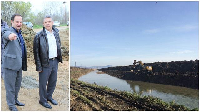 Θωρακίζονται αντιπλημμυρικά οικισμοί και καλλιέργειες στην Καρδίτσα