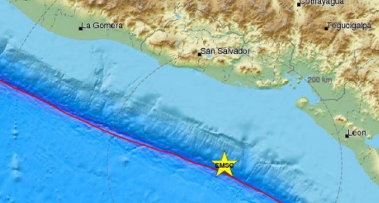 Ισχυρός σεισμός 7R στο Ελ Σαλβαδόρ - Προειδοποίηση για τσουνάμι