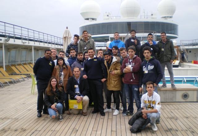 Βιωματική εκπαίδευση σπουδαστών του 2ου ΕΠΑΛ σε κρουαζιερόπλοιο