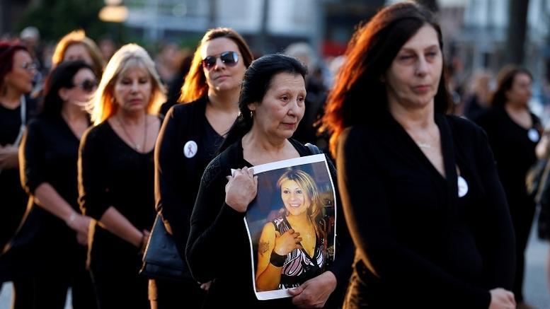 Διαμαρτυρίες για την κακοποίηση γυναικών