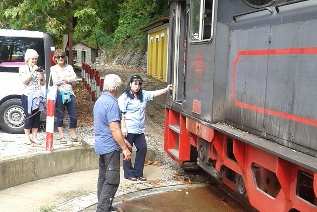 Το τρενάκι προσελκύει τους τουρίστες