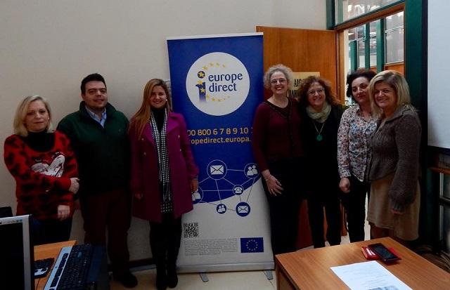 Επιμορφωτική συνάντηση των Teachers4Europe της Δευτεροβάθμιας Εκπαίδευσης Θεσσαλίας