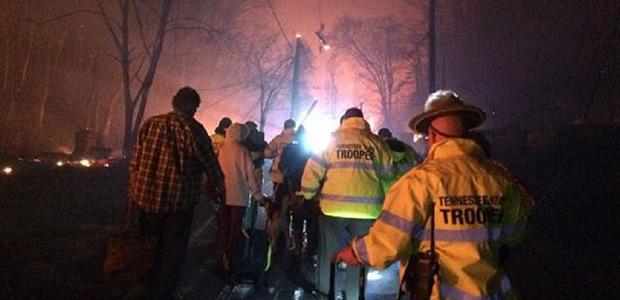 Στους 11 οι νεκροί από τη φωτιά στο εθνικό πάρκο του Τενεσί