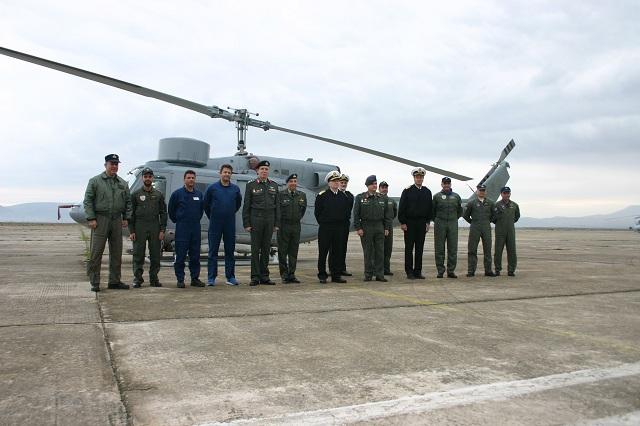 Ελικόπτερο του Πολεμικού Ναυτικού συντηρήθηκε στη Μονάδα Στεφανοβικείου