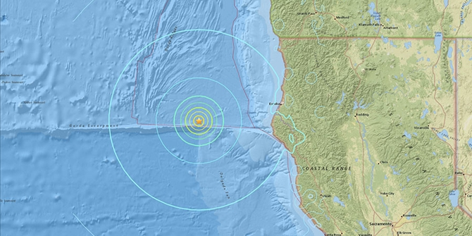 ΙΣΧΥΡΟΣ σεισμός σχεδόν 7 Ρίχτερ ταρακούνησε την Καλιφόρνια
