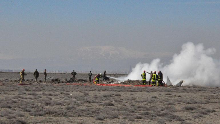 Τουρκικό πολεμικό αεροσκάφος συνετρίβη κοντά στο Ντιγιάρμπακιρ