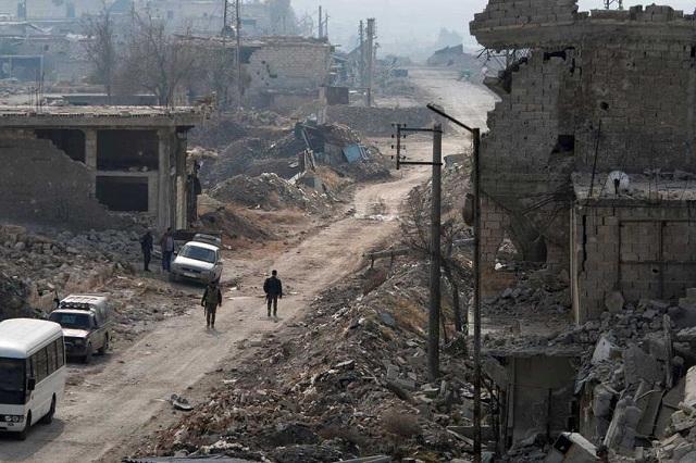 Το Χαλέπι στον έλεγχο Ασαντ, η Παλμύρα στους τζιχαντιστές