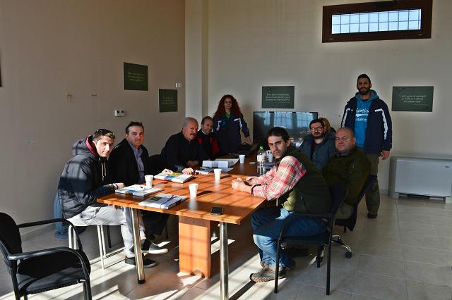 Συνάντηση ενημέρωσης Περιβαλλοντικής Πρωτοβουλίας και Κέντρου Μελέτης της λίμνης Κάρλας