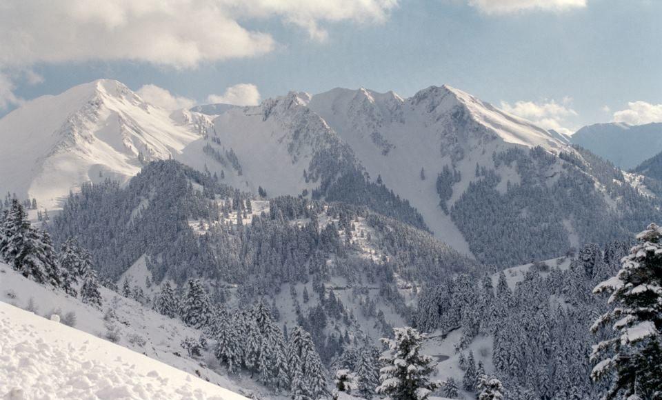 Χιόνι χωρίς προβλήματα στην Καρδίτσα