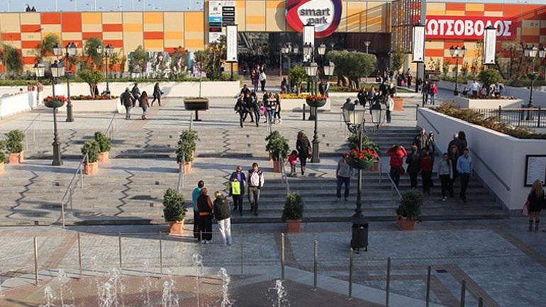 Tηλεφώνημα για βόμβα σε εμπορικό κέντρο στα Σπάτα