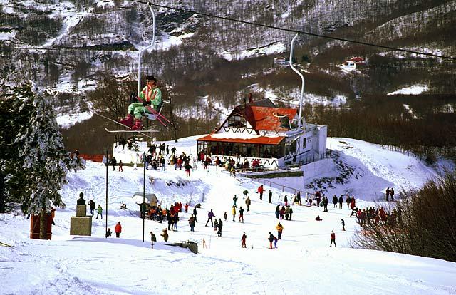 Αποτέλεσμα εικόνας για Χιονοδρομικό Κέντρο Πηλίου