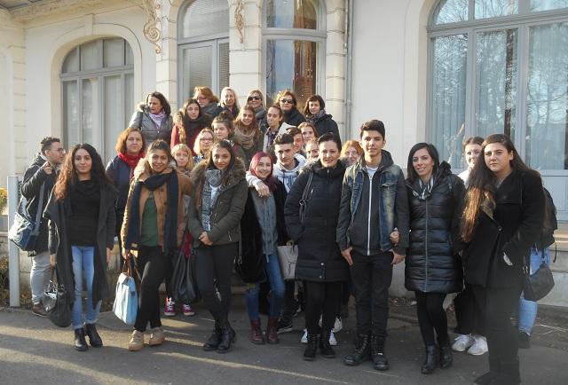 Το Γυμνάσιο Ευξεινούπολης στην Γαλλία