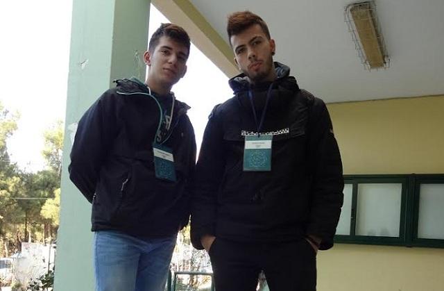 Βολιώτες μαθητές στο Ευρωπαϊκό Κοινοβούλιο Νέων