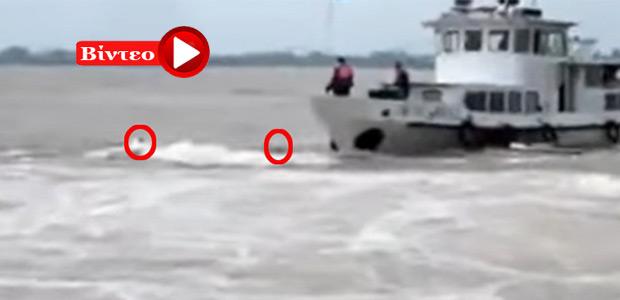 Δραματική διάσωση ναυαγών στην Κίνα